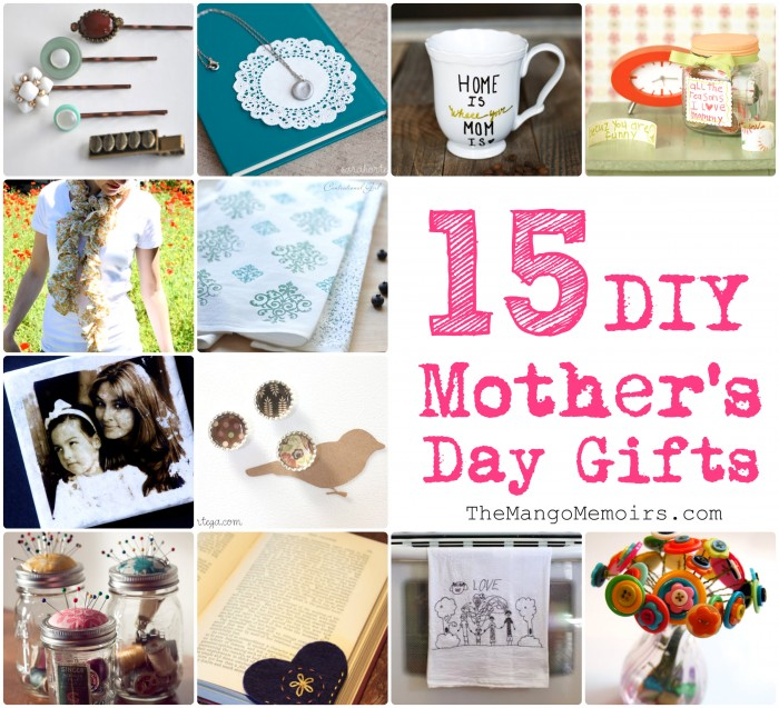 {inspired} DIY Gifts For Mother's Day