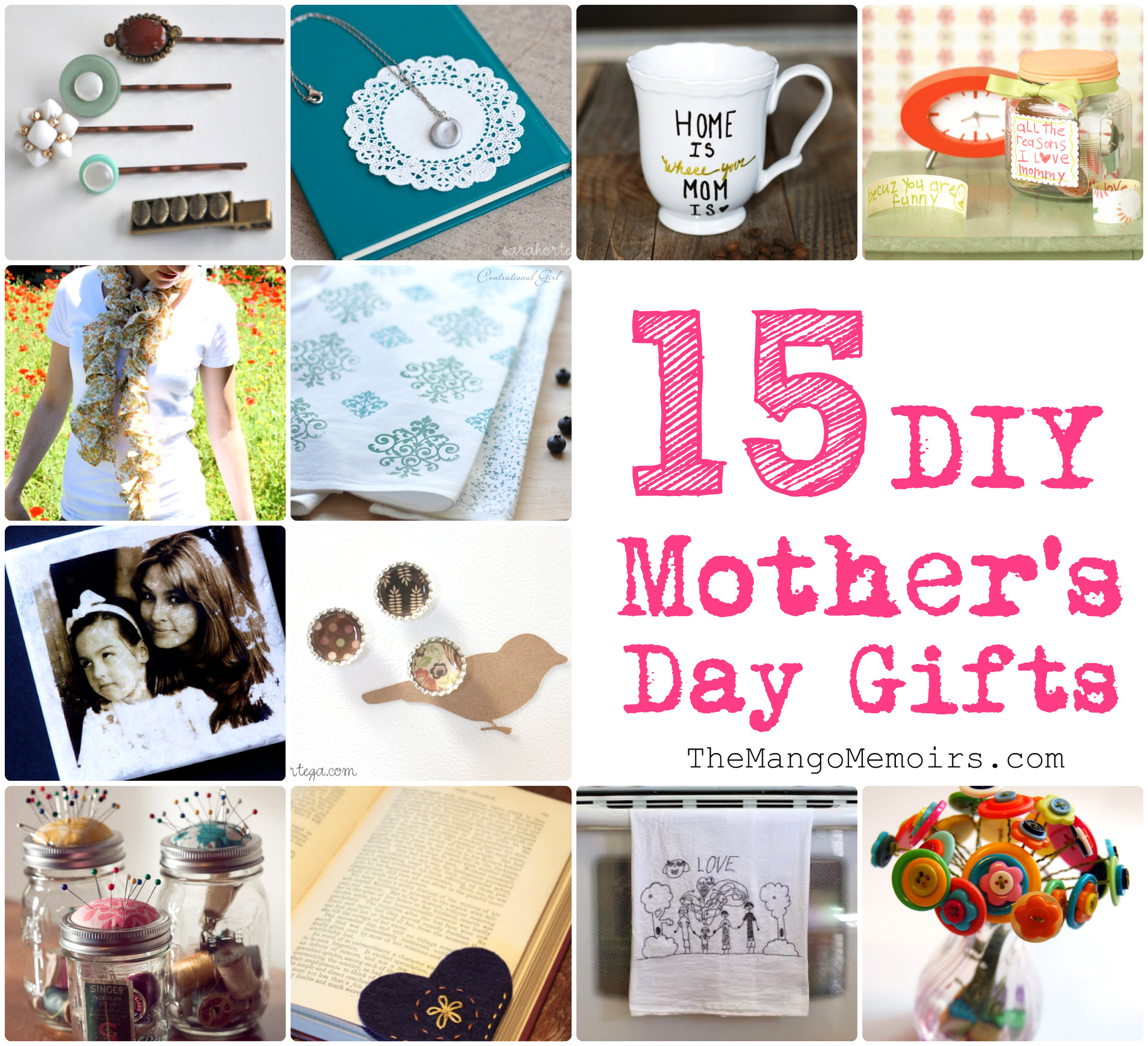 Inspired diy gifts for mother s day the mango memoirs Mothers day presents diy