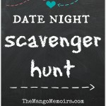 Date Night Scavenger Hunt