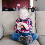 Lumberjack Samuel is FOUR!