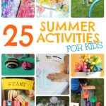 25 Inexpensive Summer Activities for Kids